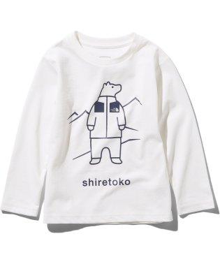 ノースフェイス/キッズ/L/S SHIRETOKO T