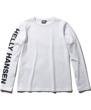ヘリーハンセン/レディス/L/S HH LETTER TEE