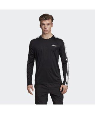 アディダス/メンズ/M D2M 3ストライプスロングスリーブTシャツ