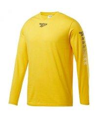 リーボック/メンズ/CL ベクター グラデーションプリント ロングスリーブ Tシャツ