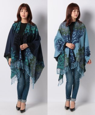 ACCESSORIES WOVEN PONCHOS