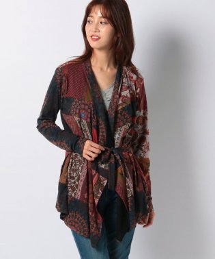 WOMAN KNIT JACKET LONG SLEEVE