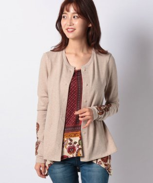 WOMAN KNIT SWEAT JACKET