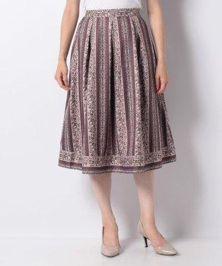 オーナメント縦柄スカート