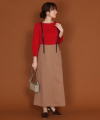 FENNEL(フェンネル) エコレザーストラップスカート