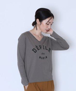 [soeur7]DEFILE ロゴTシャツ(2019AW)