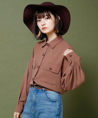 胸ポケBIGシャツ