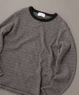 SHIPS JET BLUE×gim: ヘビーカノコ クルーネックTシャツ