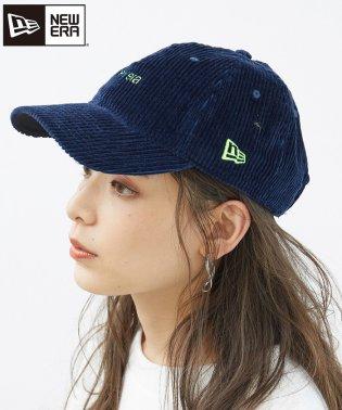 【NEW ERA】コーデュロイロゴ刺繍CAP