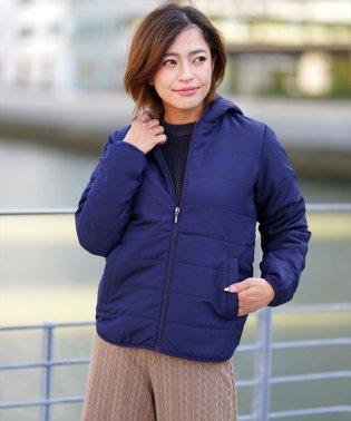 [GIORDANO]パデッドフードジャケット(中綿)