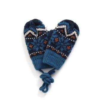 ベビーノルディック柄手袋