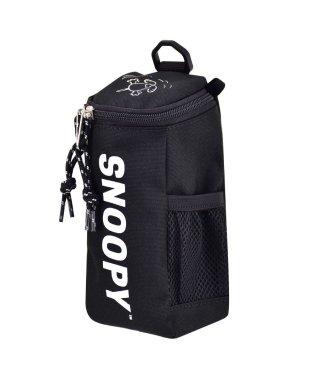 スヌーピー  ラウンドペンポーチ ロゴ ねそべり ナイロン