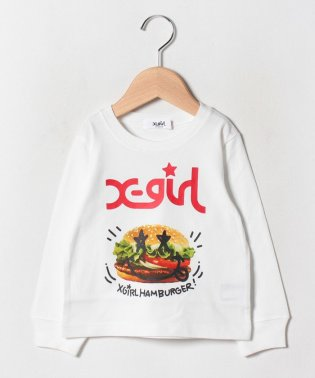 スマイルハンバーガーTシャツ