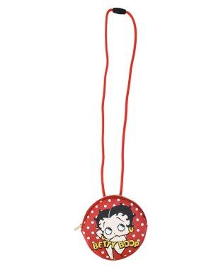 ベティちゃん Betty Boop ネックパース POP FACE 合成皮革