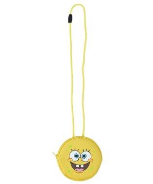 スポンジ・ボブ Sponge Bob ネックパース スポンジ・ボブ 合成皮革