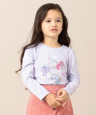【80-130cm】マイリトルポニー レインボー Tシャツ