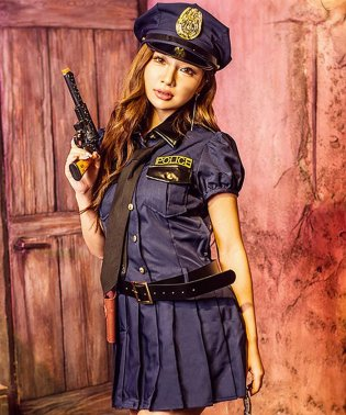 Cosplay【コスプレ】ネイビーポリス