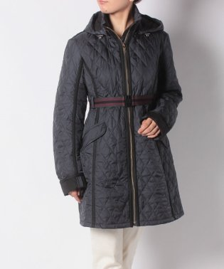 W REFINED QUILTED TRENCH COAT