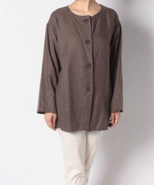 リネンレーヨンBIGシャツジャケット