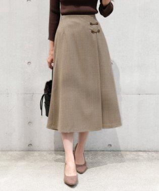【BAILA10月号掲載】クラシカルクラブ/シネマチェック スカート