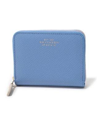1017178 PANAMA ZIP COIN PURSE 4CC レザー コインケース 小銭入れ ミニ財布 NILE-BLUE レディース
