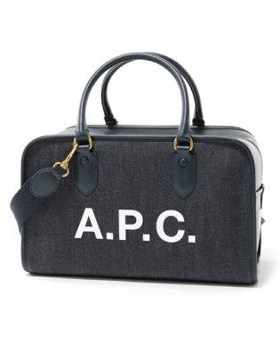 APC COCSU F61245 sac sylvie デニム 2way ボストンバッグ MARINE ユニセックス レディース