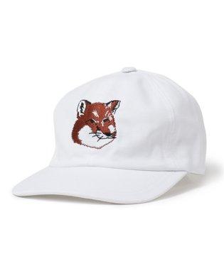 BU06111WW0007 FOX HEAD PATCH ベースボールキャップ 帽子 フォックス刺繍 WHITE レディース