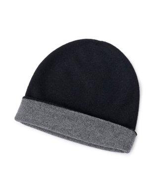 JOHNSTONS OF ELGIN ジョンストンズ リバーシブル カシミア ニットキャップ 帽子 Reversible Hat HAE1954