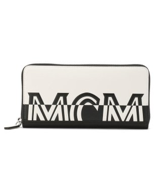 MCM/エムシーエム/Contrast ZipWallet MultiFunctional Large