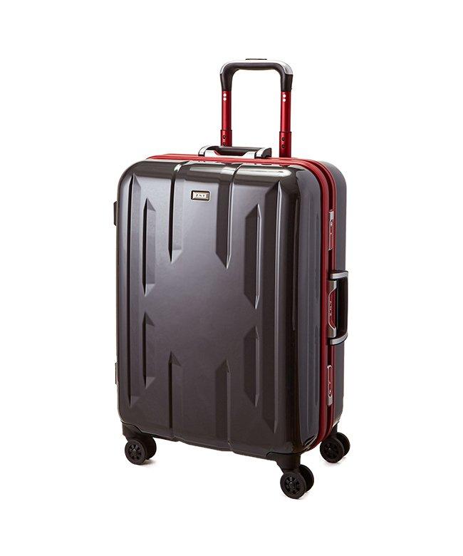 (Z.N.Y/ゼット・エヌ・ワイ)スーツケース Mサイズ 56リットル フレームタイプ TSAロック Z.N.Y ゼット・エヌ・ワイ ラウビル エース 国内旅行 海外旅行 出張 06381/ユニセックス ガンメタリック