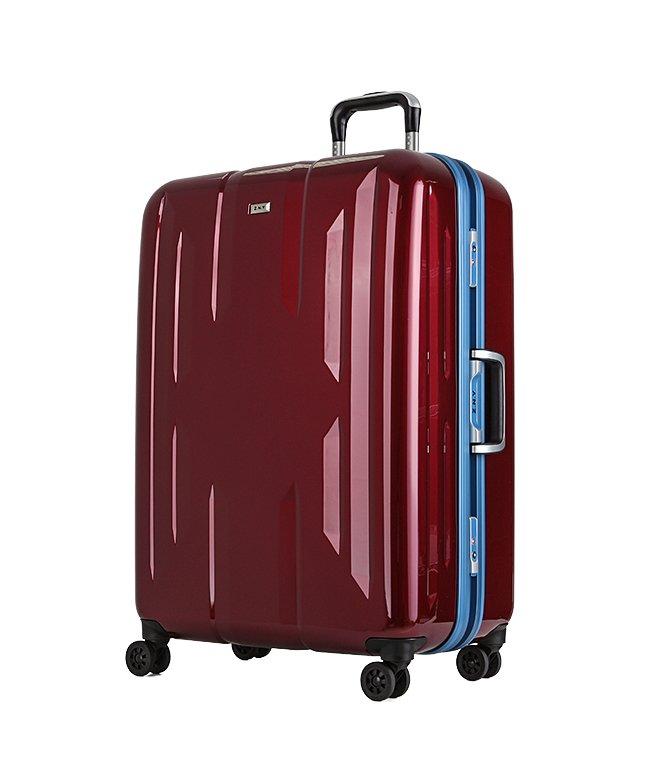 (Z.N.Y/ゼット・エヌ・ワイ)スーツケース Lサイズ エース ACE 90L フレームタイプ TSAロック Z.N.Y ゼット・エヌ・ワイ ラウビル 軽量 国内旅行 海外旅行 06382/ユニセックス レッド