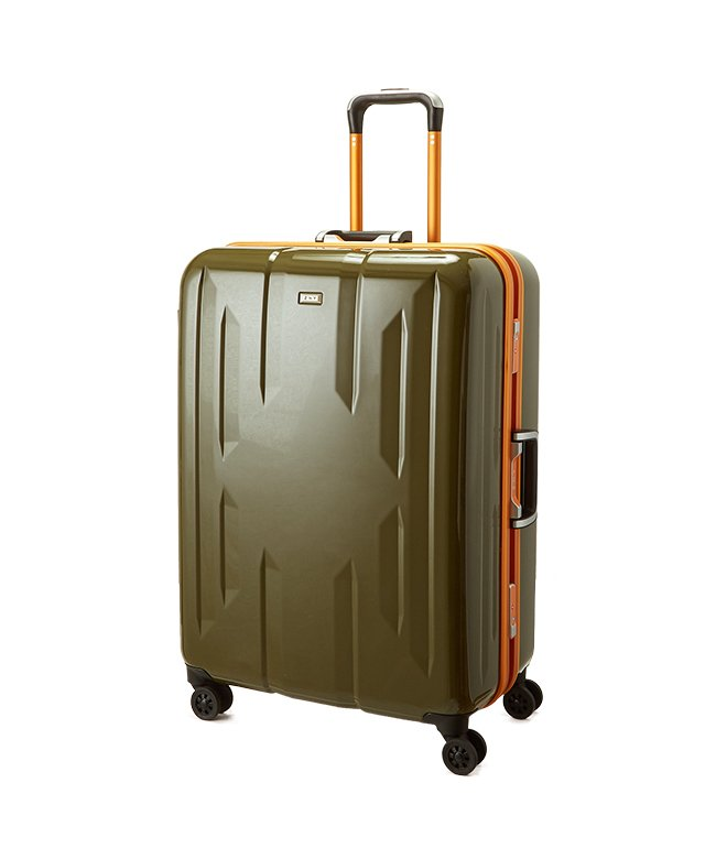 (Z.N.Y/ゼット・エヌ・ワイ)スーツケース Lサイズ エース ACE 90L フレームタイプ TSAロック Z.N.Y ゼット・エヌ・ワイ ラウビル 軽量 国内旅行 海外旅行 06382/ユニセックス カーキ