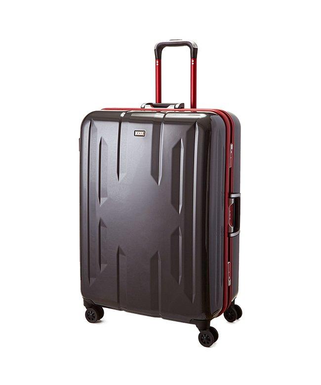 (Z.N.Y/ゼット・エヌ・ワイ)スーツケース Lサイズ エース ACE 90L フレームタイプ TSAロック Z.N.Y ゼット・エヌ・ワイ ラウビル 軽量 国内旅行 海外旅行 06382/ユニセックス ガンメタリック