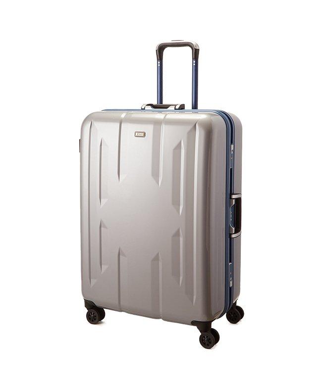 (Z.N.Y/ゼット・エヌ・ワイ)スーツケース Lサイズ エース ACE 90L フレームタイプ TSAロック Z.N.Y ゼット・エヌ・ワイ ラウビル 軽量 国内旅行 海外旅行 06382/ユニセックス シルバー