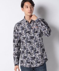 MAN WOVEN SHIRT LONG SLEEVE