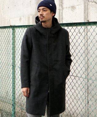 BEAMS / フリース フーデッド コート