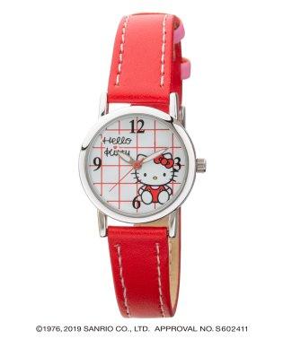 ハローキティ HELLO KITTY 腕時計 アナログウオッチ レディース キッズ 【HK-AL1622-RDS】