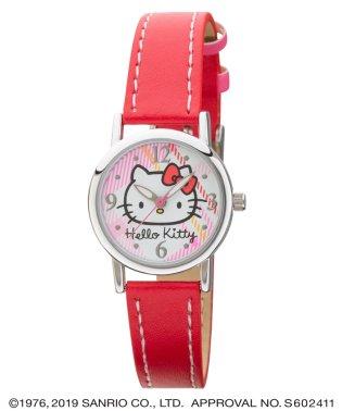 ハローキティ HELLO KITTY 腕時計 アナログウオッチ レディース キッズ 【HK-AL1632-RDS】