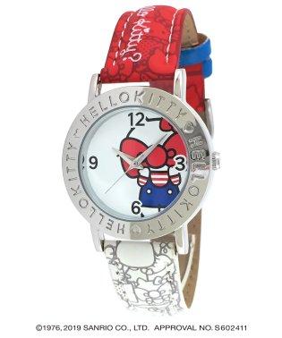 ハローキティ HELLO KITTY 腕時計 アナログウオッチ レディース キッズ 【HK-AL1661-RDW】