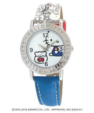 ハローキティ HELLO KITTY 腕時計 アナログウオッチ レディース キッズ 【HK-AL1662-WTB】