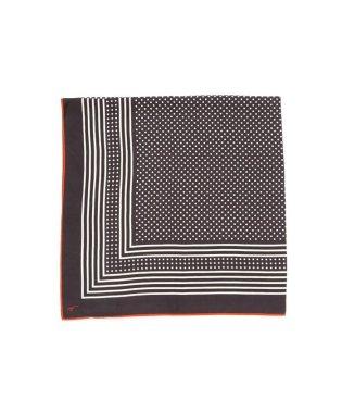 ◆オリジナルシルクスカーフドット柄スカーフ