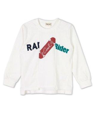 リメイク風長袖Tシャツ