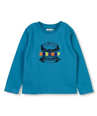 ハンバーガー長袖Tシャツ