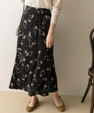トビバナプリントマーメイドスカート