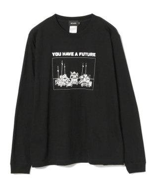 BEAMS / グラフィック プリント ロングスリーブ Tシャツ
