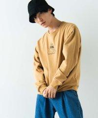 WEGO/ヒューマン刺繍プルオーバースウェット