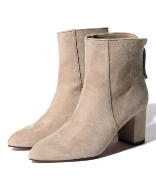 【SHIPS for women】(3053)POINTED SHORT BOOTS