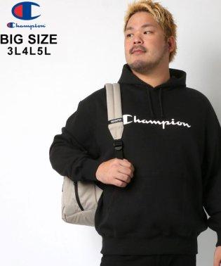 【Champion】チャンピオン 大きいサイズ ロゴ 裏毛 パーカー