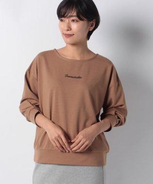 Techichi TERRASSE ポンチロゴ刺繍プルオーバー 7S