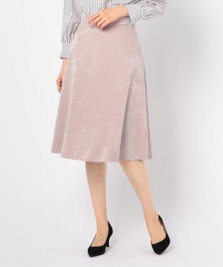 サテンボンディングリバーシブルスカート